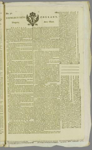 Middelburgsche Courant 1809-03-07