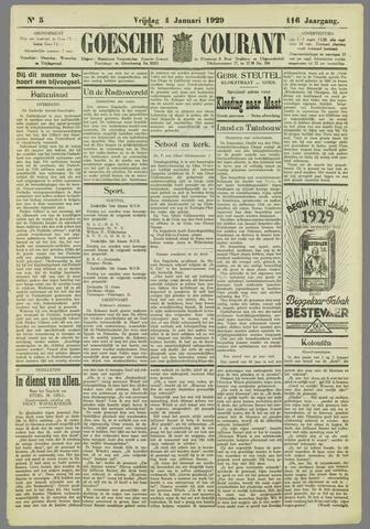 Goessche Courant 1929-01-04