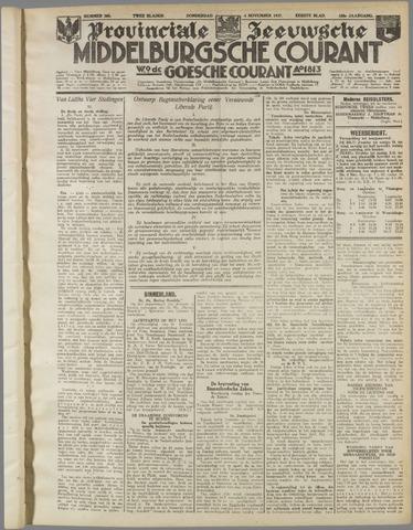 Middelburgsche Courant 1937-11-04