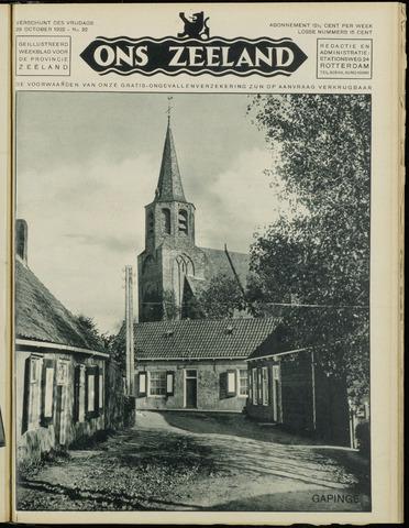 Ons Zeeland / Zeeuwsche editie 1932-10-28