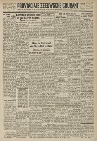Provinciale Zeeuwse Courant 1945-11-13