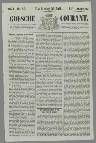 Goessche Courant 1874-07-23