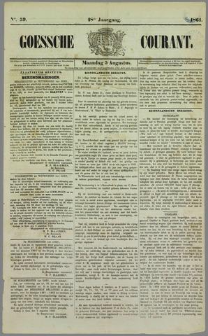 Goessche Courant 1861-08-05