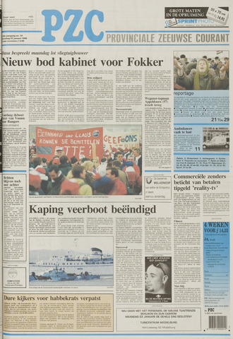 Provinciale Zeeuwse Courant 1996-01-20