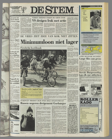 de Stem 1991-04-11