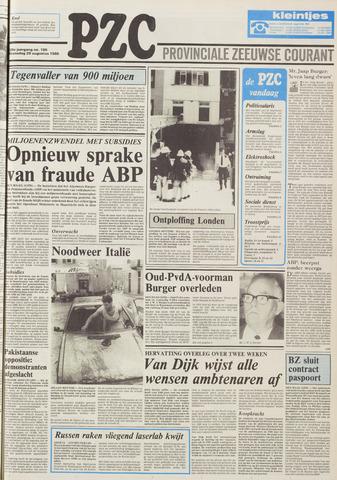Provinciale Zeeuwse Courant 1986-08-20