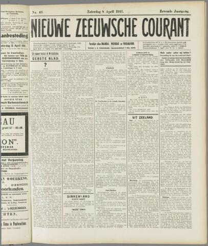 Nieuwe Zeeuwsche Courant 1911-04-08