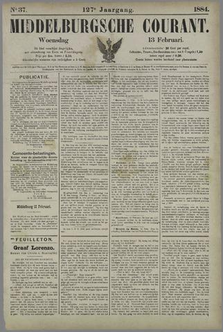 Middelburgsche Courant 1884-02-13