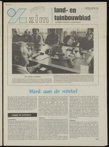 Zeeuwsch landbouwblad ... ZLM land- en tuinbouwblad 1990-04-20