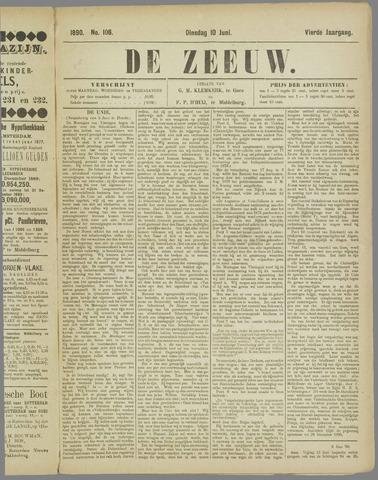 De Zeeuw. Christelijk-historisch nieuwsblad voor Zeeland 1890-06-10
