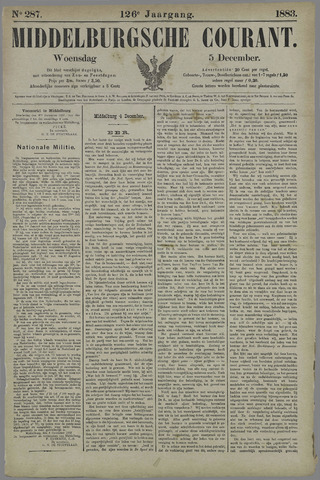 Middelburgsche Courant 1883-12-05