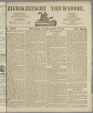 Zierikzeesche Nieuwsbode 1854-12-18
