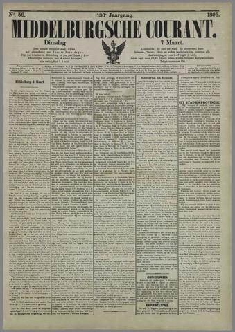 Middelburgsche Courant 1893-03-07