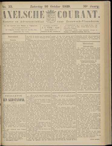 Axelsche Courant 1920-10-16