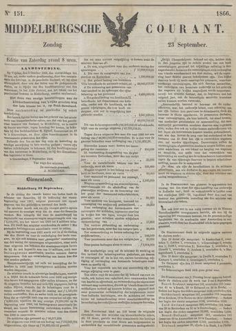 Middelburgsche Courant 1866-09-23