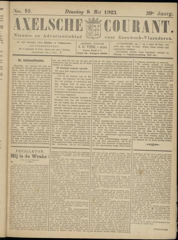 Axelsche Courant 1923-05-08