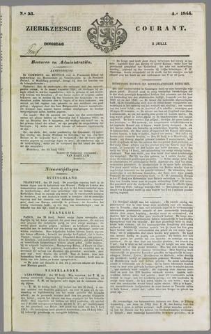 Zierikzeesche Courant 1844-07-02