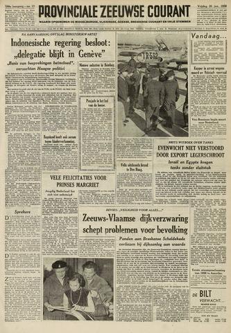 Provinciale Zeeuwse Courant 1956-01-20