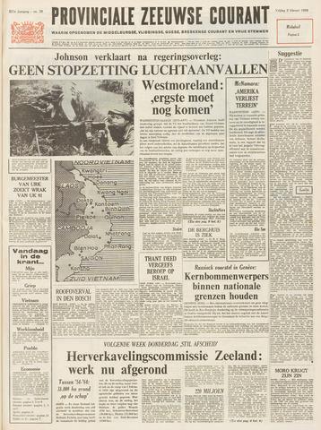 Provinciale Zeeuwse Courant 1968-02-02