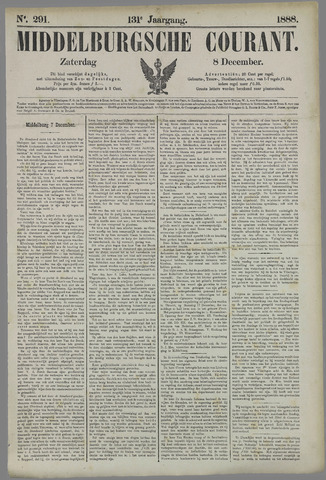 Middelburgsche Courant 1888-12-08