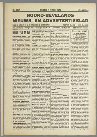 Noord-Bevelands Nieuws- en advertentieblad 1948-10-16