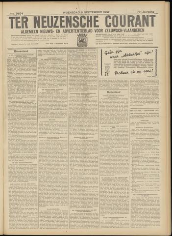 Ter Neuzensche Courant. Algemeen Nieuws- en Advertentieblad voor Zeeuwsch-Vlaanderen / Neuzensche Courant ... (idem) / (Algemeen) nieuws en advertentieblad voor Zeeuwsch-Vlaanderen 1937-09-08