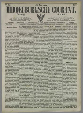 Middelburgsche Courant 1891-04-04
