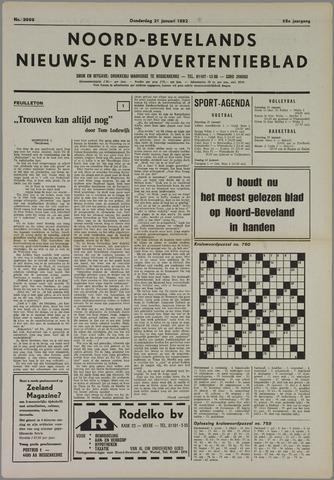 Noord-Bevelands Nieuws- en advertentieblad 1982-01-21