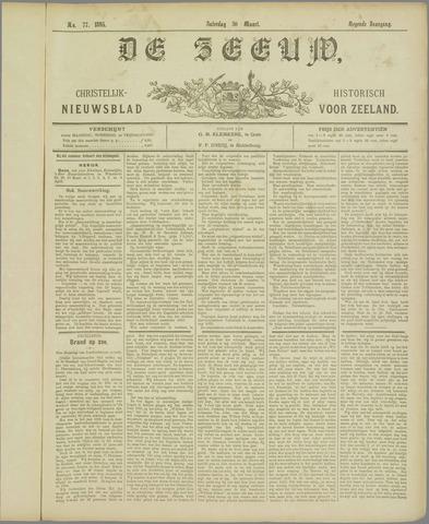 De Zeeuw. Christelijk-historisch nieuwsblad voor Zeeland 1895-03-30