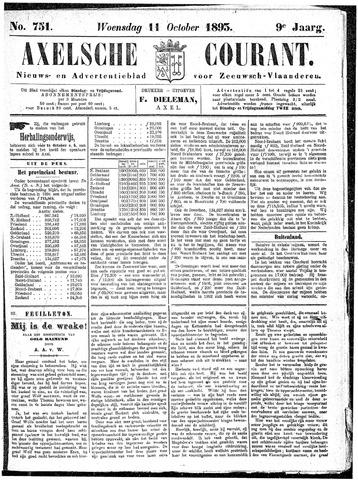 Axelsche Courant 1893-10-11