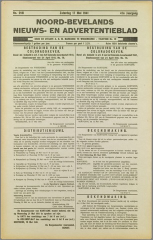 Noord-Bevelands Nieuws- en advertentieblad 1941-05-17