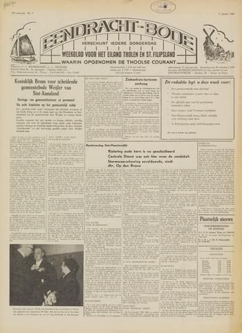 Eendrachtbode (1945-heden)/Mededeelingenblad voor het eiland Tholen (1944/45) 1967
