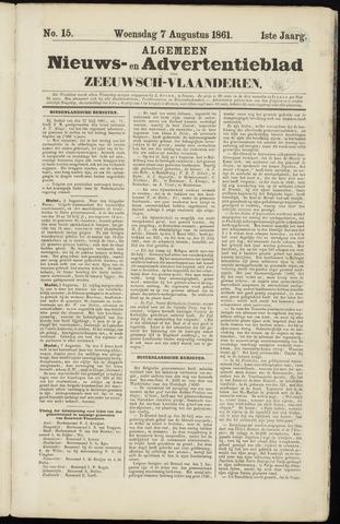 Ter Neuzensche Courant. Algemeen Nieuws- en Advertentieblad voor Zeeuwsch-Vlaanderen / Neuzensche Courant ... (idem) / (Algemeen) nieuws en advertentieblad voor Zeeuwsch-Vlaanderen 1861-08-07