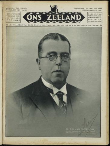 Ons Zeeland / Zeeuwsche editie 1934-11-09