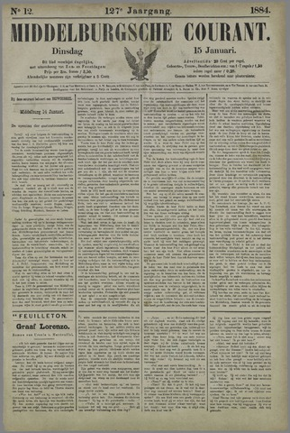 Middelburgsche Courant 1884-01-15