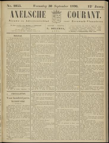 Axelsche Courant 1896-09-30