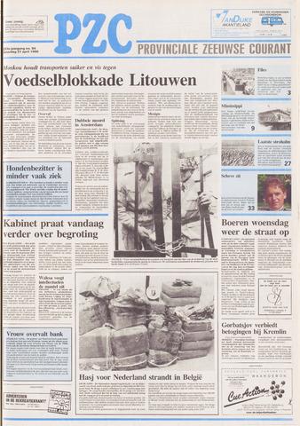 Provinciale Zeeuwse Courant 1990-04-21