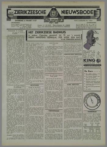 Zierikzeesche Nieuwsbode 1937-03-06