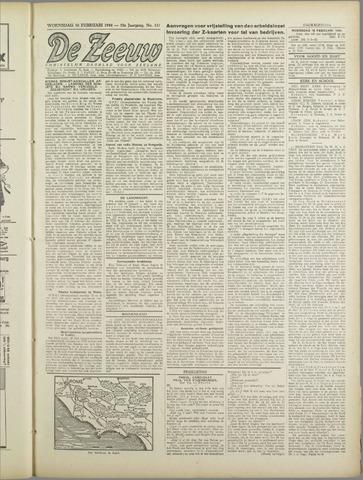 De Zeeuw. Christelijk-historisch nieuwsblad voor Zeeland 1944-02-16
