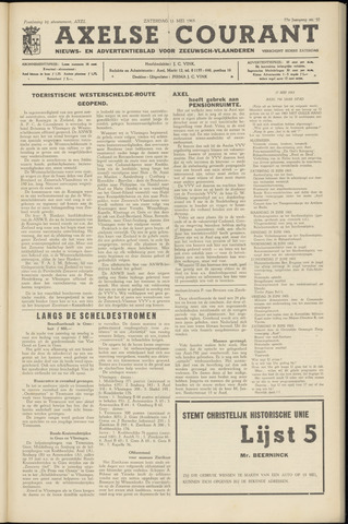 Axelsche Courant 1963-05-11