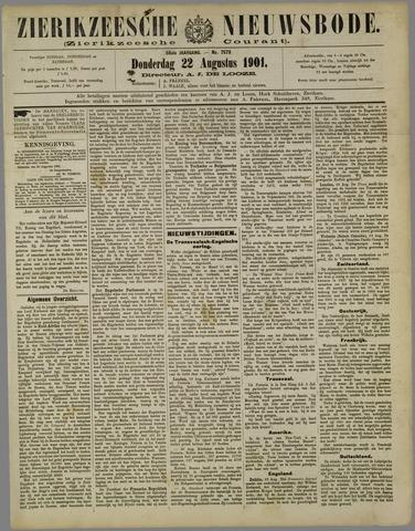 Zierikzeesche Nieuwsbode 1901-08-22