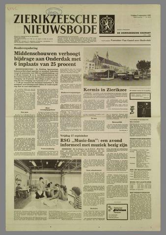 Zierikzeesche Nieuwsbode 1982-09-03