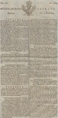Middelburgsche Courant 1764-11-24