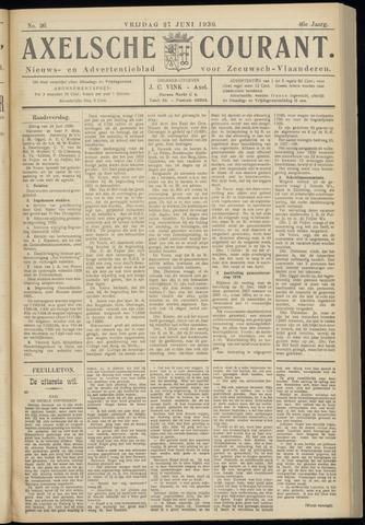 Axelsche Courant 1930-06-27