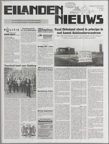 Eilanden-nieuws. Christelijk streekblad op gereformeerde grondslag 2000-11-28