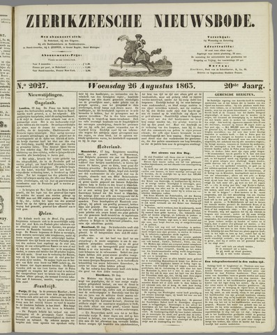 Zierikzeesche Nieuwsbode 1863-08-26