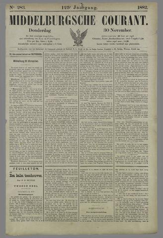 Middelburgsche Courant 1882-11-30