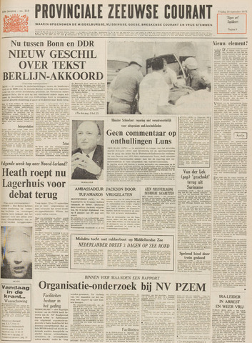 Provinciale Zeeuwse Courant 1971-09-10
