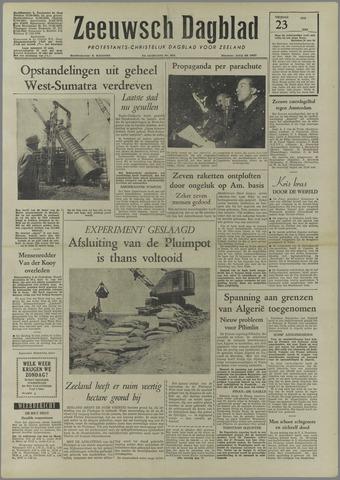 Zeeuwsch Dagblad 1958-05-23