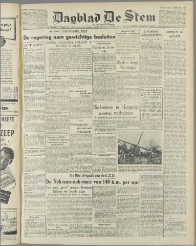 de Stem 1949-02-23